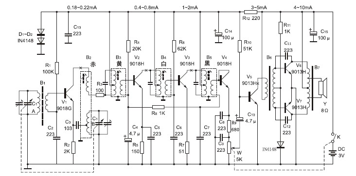 good old-fashioned discrete transistor superhet kit