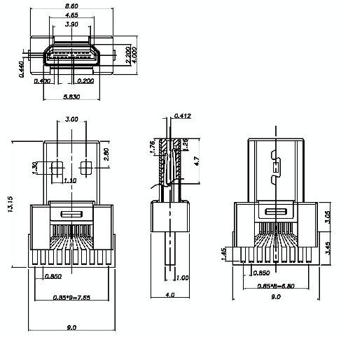 Condensatore radelectrolytic 4.7uF 63 V 85 C